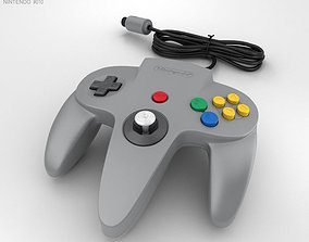 Nintendo 64 Controller 3D