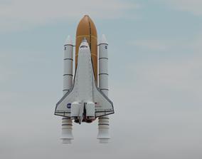 3D spacesuit space shuttle