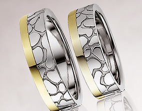 3D printable model Wedding ring 030