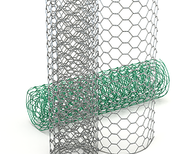 3D model Adaptable Chicken Wire Mesh