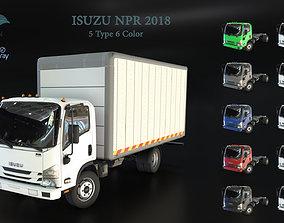 3D asset ISUZU NPR 2018