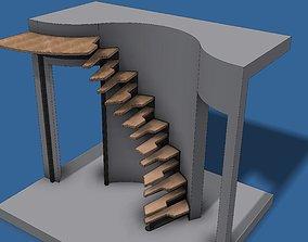 house Stair 3D model