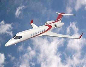 Bombardier Learjet 85 private jet 3D