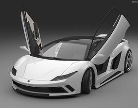 3D model EON Generic sportcar concept