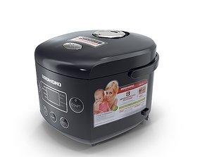 Multi cooker Redmond M02 3D model