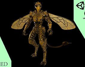 Mutant Wasp 3D asset