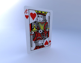 3D King of Hearts