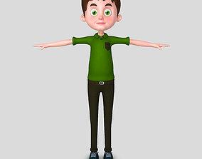 3D Man cartoon