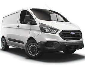 3D model Ford Transit Custom L1H1 Leader 2021