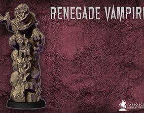 3D printable model Renegade vampire miniature