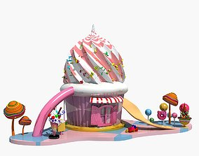 Candy House 2-1 3D