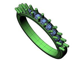 3D printable model Wedding Band - 80