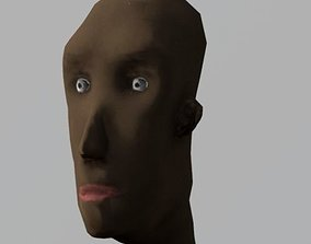 Caricature-Cartoon African Man 3D model