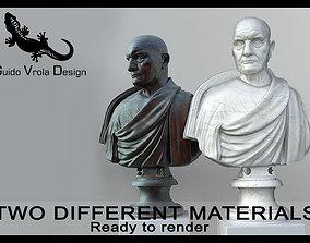 3D model Bust of Roman Empire Consul