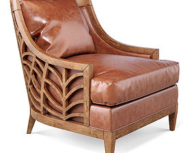 Marion Leather Chair 3D model