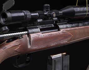 Remington Model 700 3D asset