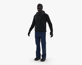 Robber 3D model