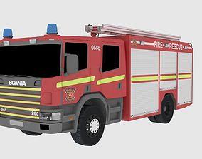 3D model Fire Truck