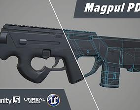 Magpul PDR 3D model
