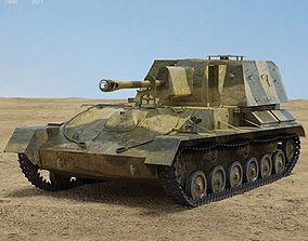 3D model SU-76