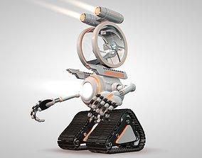 3D Robot 04 with Cockpit