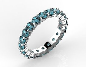 Eternity ring 3 mm 3D printable model