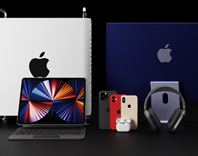 3D Ultimate Apple All-Time Products Collection Bundle