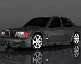 Mercedes-Benz 190E 3D asset