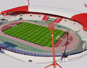 Bahrain National Stadium 3D model