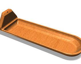 Stylish Rounded Incense Burner 3D print model