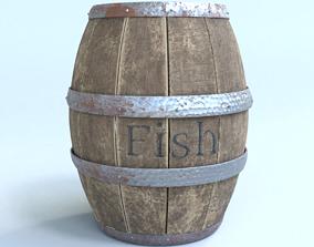 dock 3D model Barrel