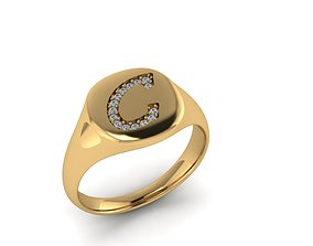 3D print model Jewelry Signature Ring