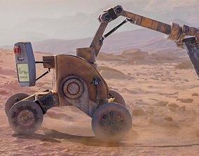 3D asset Nokia Robot