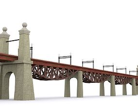 little Hell Gate Bridge 3D model