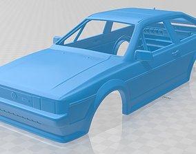 Volkswagen Scirocco 1986 Printable Body Car