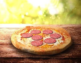 3D model Pepperoni Pizza