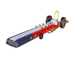 Race Car 09 Turbo Terrific 3D asset