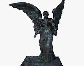 3D Bronze Goddess 01