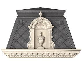 3D Roof fasad set