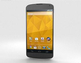 Google Nexus 4 White 3D