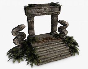 Ancient Jungle ruins 3D model
