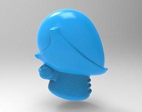 3D print model Evil Space Elf - Reaver Helm