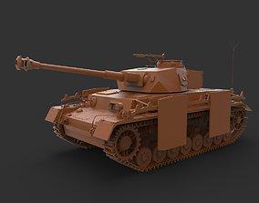 PzKpfw IV 3D print model