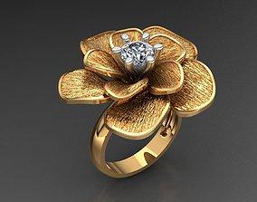3D printable model MGold018 Flower Ring