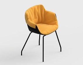 armchair modern 64 3D model