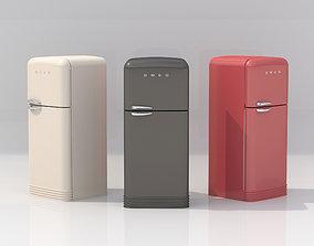 Smeg Refrigerator 3D frozen