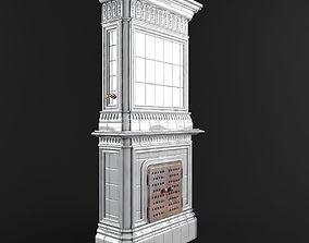 site-component Majolica stove 3D model