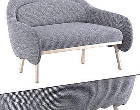 3D Corolla sofa 273