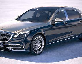 Mercedes Maybach 2019 3D