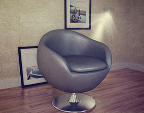 Occasional Chair Bounce Armchair 3D model
